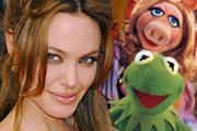 Angelina Jolie a Muppet showban