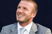 Beckham hatalmas...plakátja