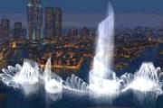 Gigantikus szökőkút épül Dubaiban