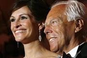 Julia Roberts és Armani  megint együtt