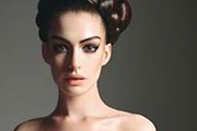 Anne Hathaway mint Leia hercegnő