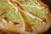 Brokkolis, sajtos túrótorta