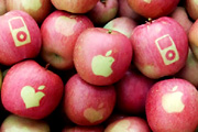Apple almák