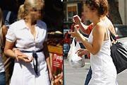 Ilyenek vagyunk fehér ruhában