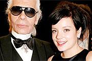 Lagerfeld és Lily Allen egyre szorosabb kapcsolatban