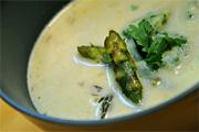 A spárga vége: spárgakrémleves ebédre