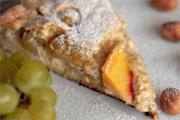 Nekünk őszi sütemény a szőlős, mogyorós pite