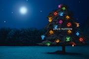 Louis Vuitton karácsonyfadíszek