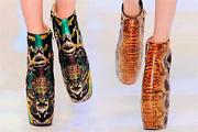 Cipőtrend, 2010: Extrém, bizarr platformcipők