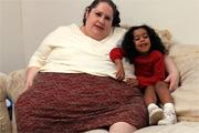 A nő, aki a világ legkövérebb nője kíván lenni