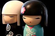 Beleszerettünk ezekbe a japán babákba