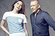 Gaultier és Bruni egy célért kampányol