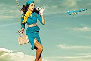 Stílusleső: stewardess sikk