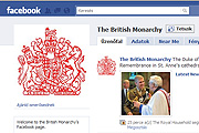 Szereti a királynőt a Facebook népe