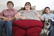 A világ legkövérebb nője akar lenni