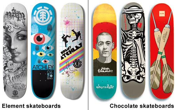 www.elementskateboards.com, www.wallridecatalog.com