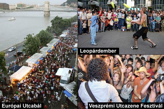 www.francia-ev.com, www.festivalcity.hu, www.utcazene.hu
