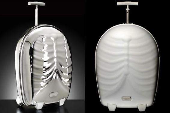 Bordás bőrönd Alexander McQueentől
