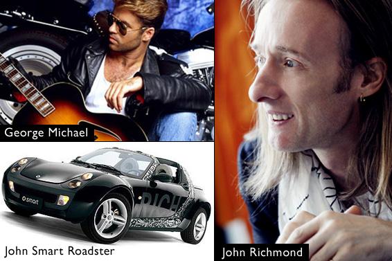 www.georgemichael.com, www.alevosia.com, www.johnrichmond.com