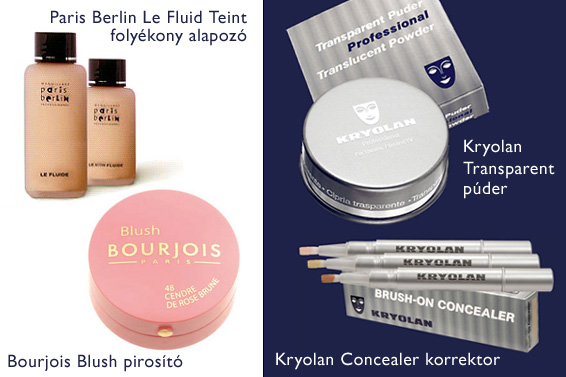 www.parisberlin.com, www.bourjois.co.uk, www.kryolan.com